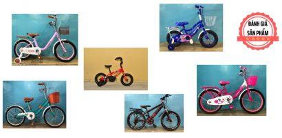 15 mẫu xe đạp đẹp cho bé từ 2 đến 10 tuổi