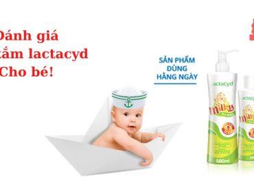 Đánh giá sữa tắm lactacyd cho bé