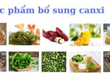 13 loại thực phẩm bổ sung canxi tốt cho cơ thể