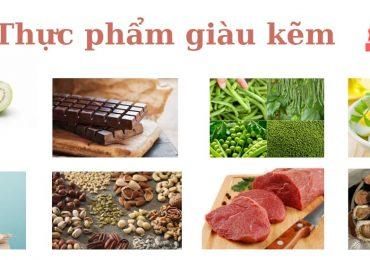 8 loại thực phẩm giàu kẽm tốt cho cơ thể