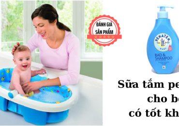 Sữa tắm penaten cho bé có tốt không?