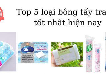 Top 5 loại bông tẩy trang được ưu chuộng nhất hiện nay